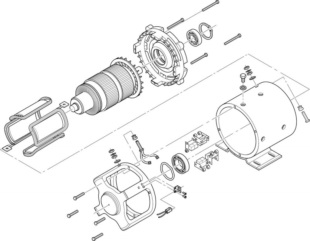 Montage, Demontage von Umzug von Maschinen